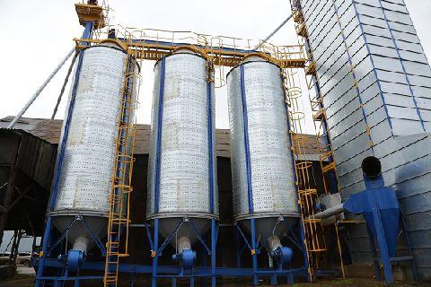 Открытие зернокомплекса производительностью 20 т/ч